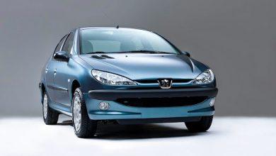قیمت خودرو پژو 206